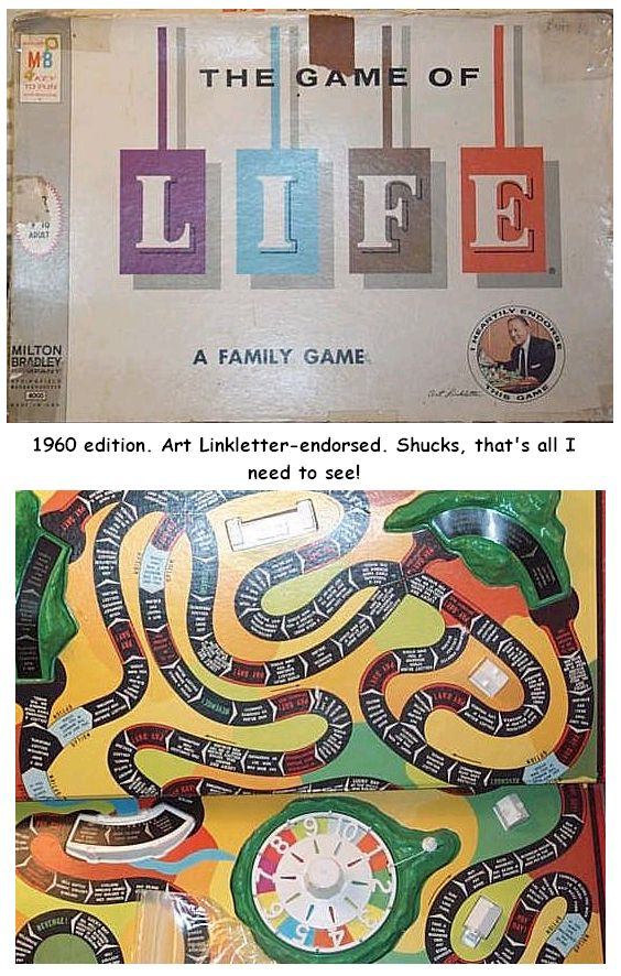 1960s Games - Life